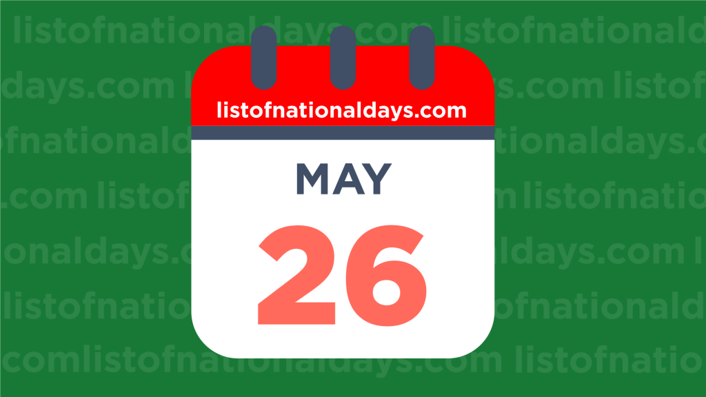 Image for MAY 26TH