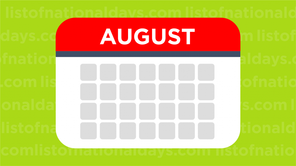 August List Of National Days