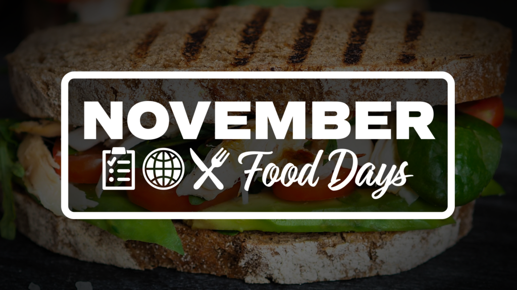 November Food Days Graphic