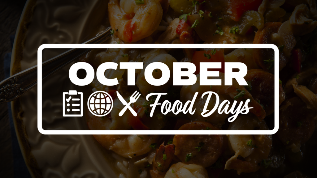 Food Days in October