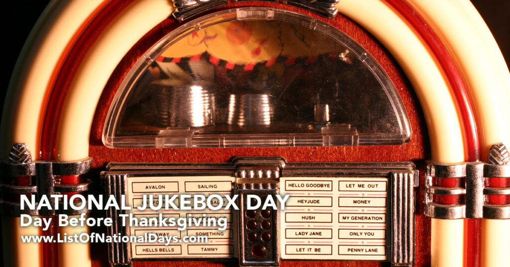 A close up of coin operated Jukebox