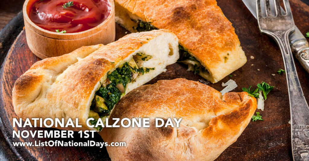 A plate of Calzones.