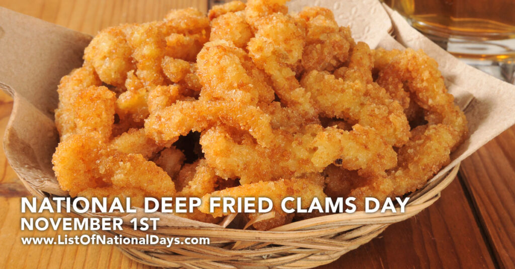 A bowl of National Deep Fried Clams