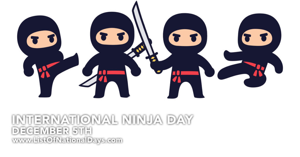 4 Cartoon Ninja's