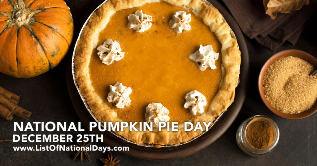 A pumpkin pie with whipped cream dollops.