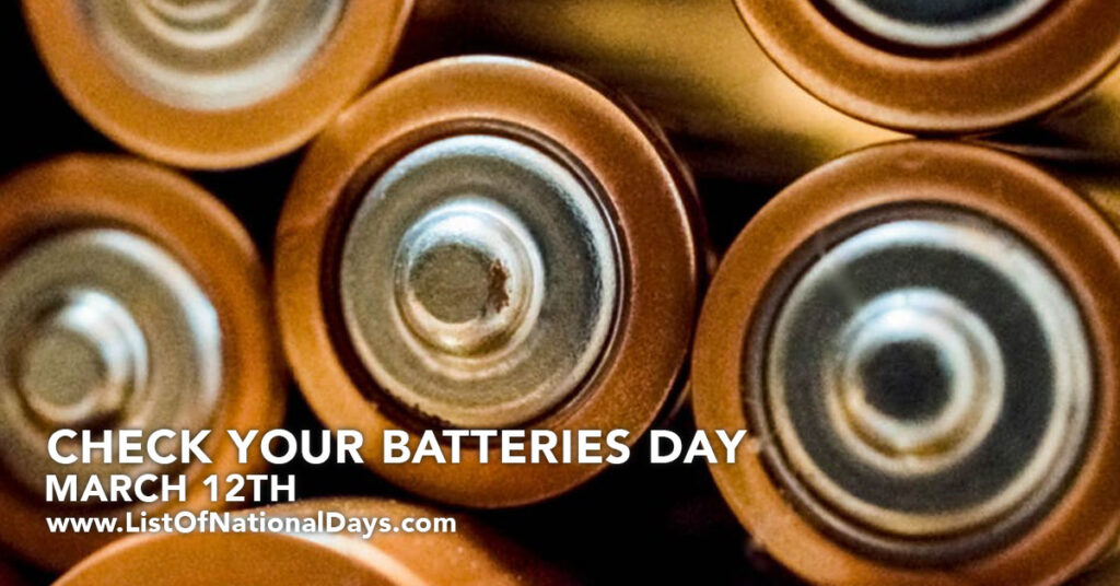 A close up of batteries
