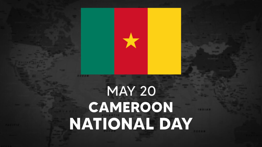 Cameroon's National Day is May 9th