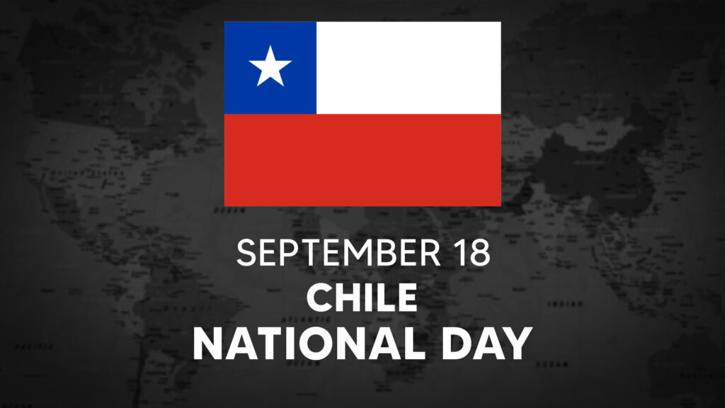 Chile's National Day is September 18th