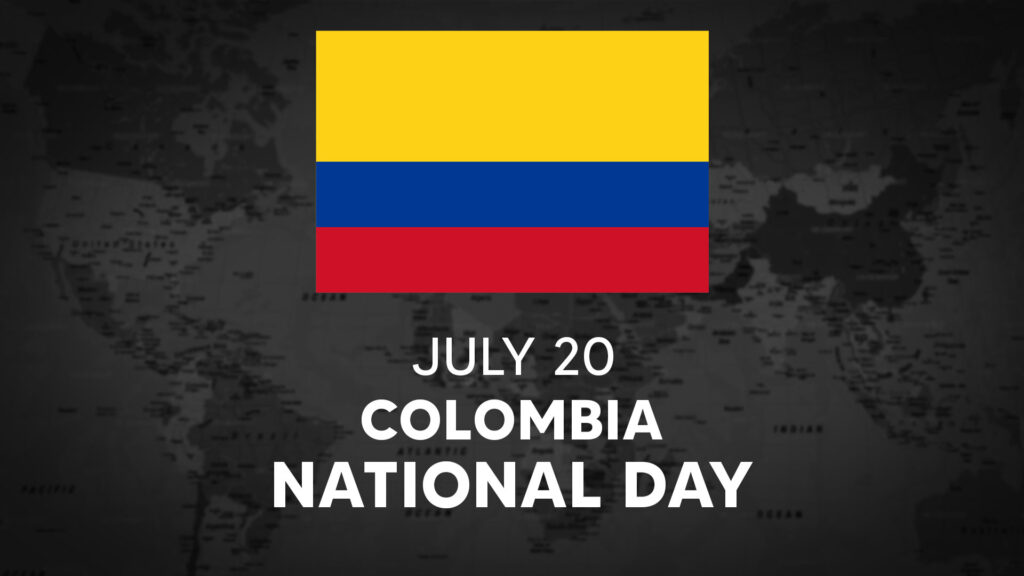Colombia's National Day is July 20th