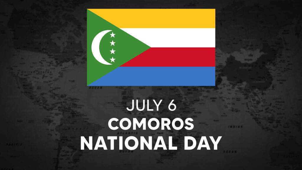 Comoros's National Day is July 6th
