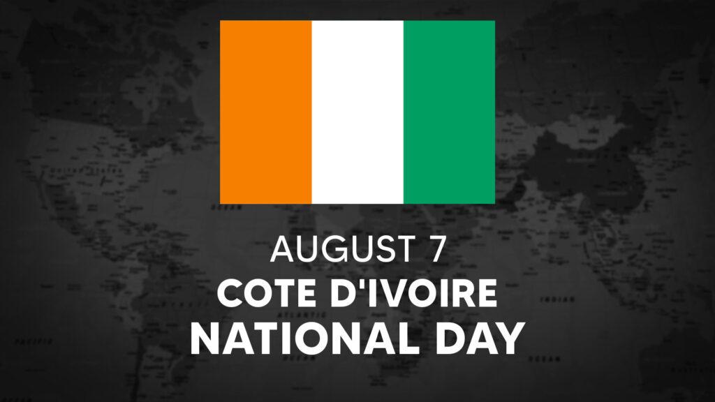 Côte D'Ivoire's National Day