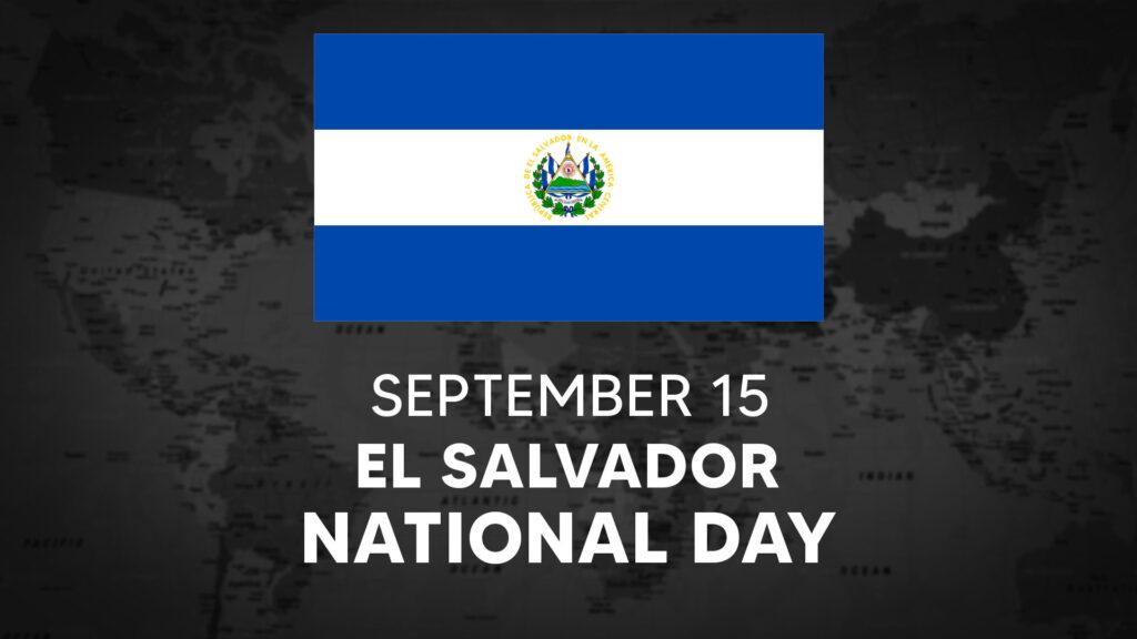El Salvador's National Day