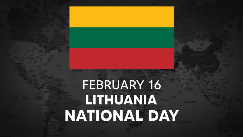 Lithuania's National Day