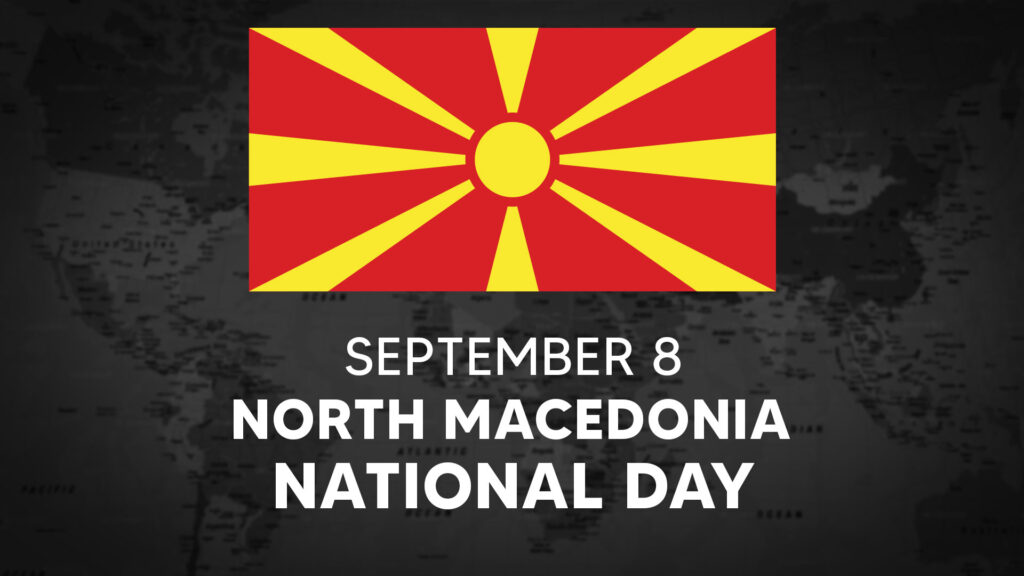 North Macedonia's National Day