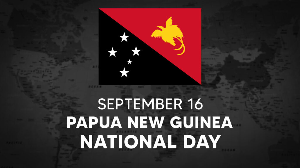 Papua New Guinea's National Day