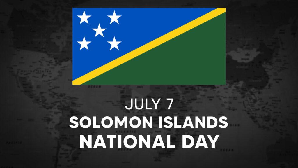Solomon Islands's National Day