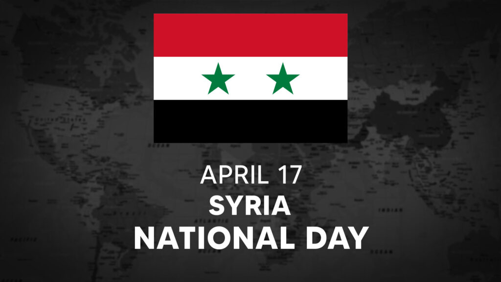 Syria's National Day